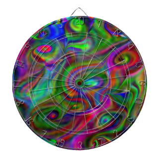 remember the 60s and 70s, fluid colors dart board