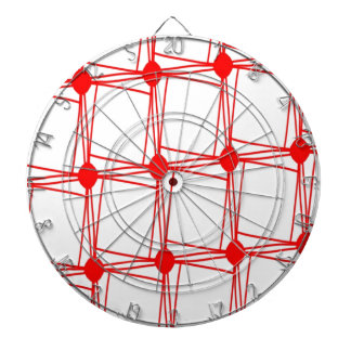 remember the 60s and 70s red pattern dartboards