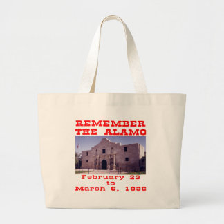 Remember The Alamo 001 Canvas Bags