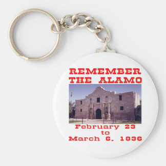 Remember The Alamo  #001 Keychain