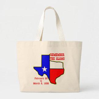 Remember The Alamo 002 Bag