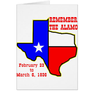Remember The Alamo  #002 Card