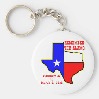 Remember The Alamo  #002 Keychain