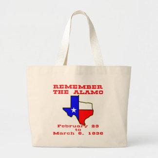 Remember The Alamo 003 Tote Bags
