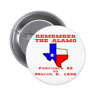 Remember The Alamo 003 Pinback Buttons