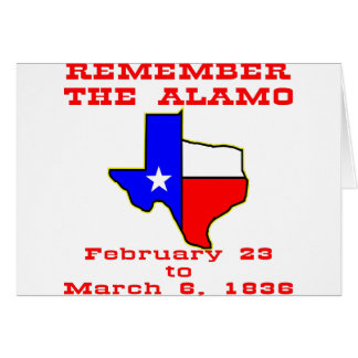 Remember The Alamo #003 Card