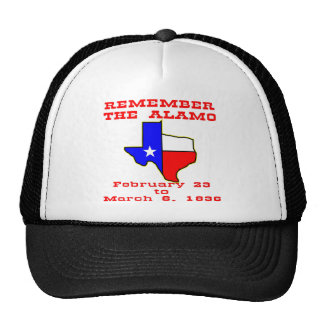 Remember The Alamo  #003 Trucker Hat