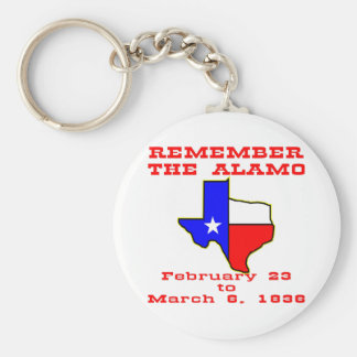 Remember The Alamo #003 Keychain