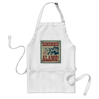 Remember the Alamo apron