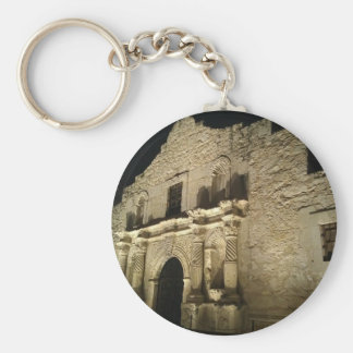Remember the Alamo Basic Round Button Keychain