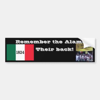 Remember the Alamo! Bumper Sticker