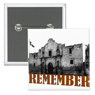 Remember the Alamo Pins