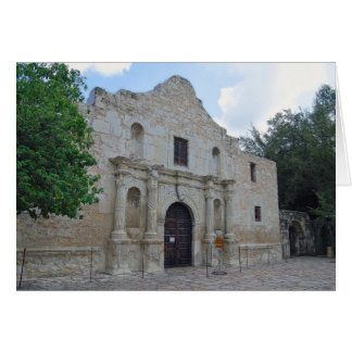 """Remember the Alamo"" Card"