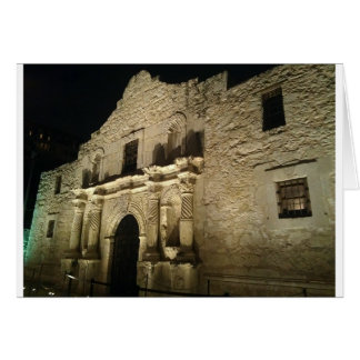 Remember the Alamo Card