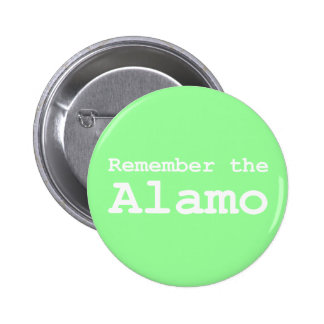 Remember the Alamo Gifts Buttons