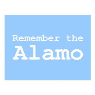 Remember the Alamo Gifts Postcard