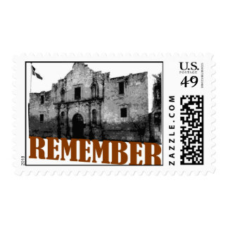 Remember the Alamo Postage Stamps
