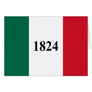 Remember the Alamo Texas State Flag Card