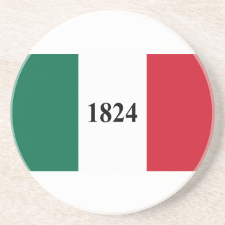 Remember the Alamo Texas State Flag Coaster