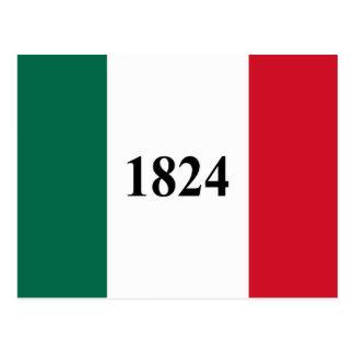 Remember the Alamo Texas State Flag Postcard