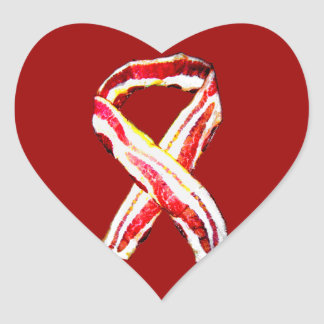 Remember The BACON! Heart Sticker