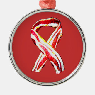 Remember The BACON! Metal Ornament