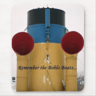 Remember The Boblo Boats - Ste. Claire stacks Mouse Pads