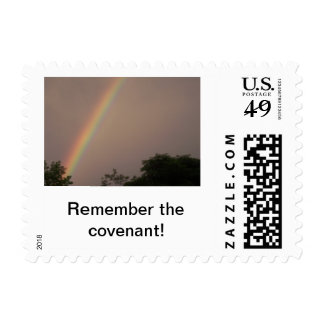 Remember the Covenant! Postage Stamp
