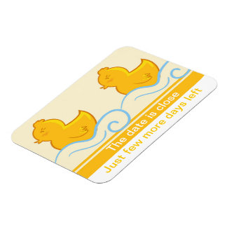 Remember the days rubber ducky premium magnet