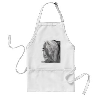 Remember the face apron