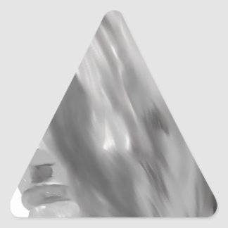 Remember the face triangle sticker