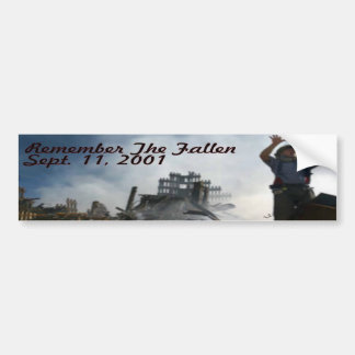 Remember The Fallen Bumper Sticker