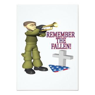 Remember The Fallen Card
