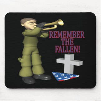 Remember The Fallen Mouse Pad