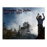 Remember The Fallen Postcard