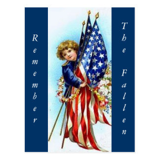 Remember The Fallen! Postcard
