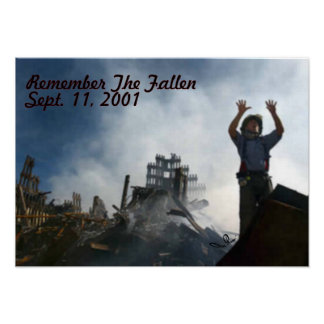 Remember The Fallen Posters
