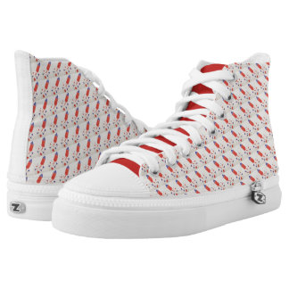 REMEMBER THE FALLEN ROCKET HIGH TOPS