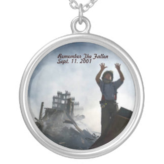 Remember The Fallen Silver Plated Necklace