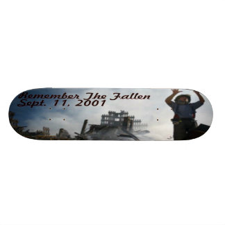 Remember The Fallen Skateboard