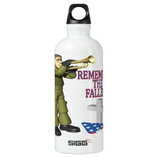 Remember The Fallen Water Bottle
