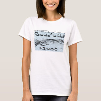 Remember The Gulf Ladies Apparel T-Shirt