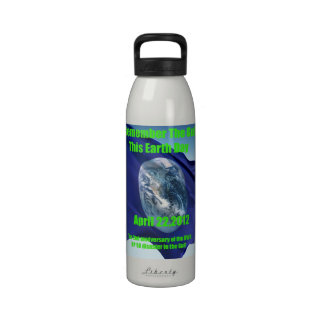 Remember The Gulf this Earth Day Reusable bottle Drinking Bottle