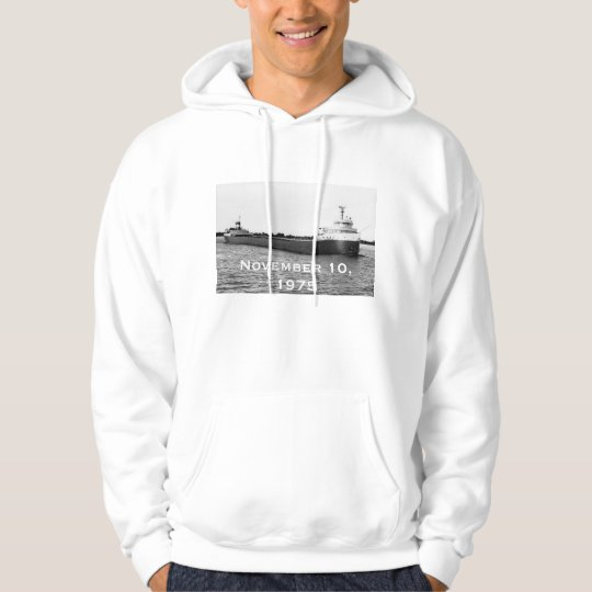 Remember the Legendary Edmund Fitzgerald Hoodie