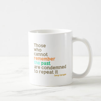 Remember the Past Classic White Coffee Mug