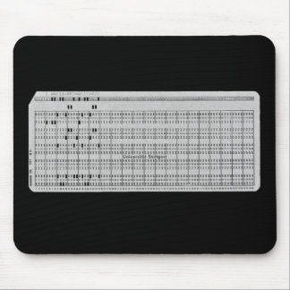 Remember the punchcard? Mousepad
