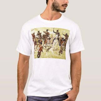 Remember the River Raisin by Ken Riley T-Shirt
