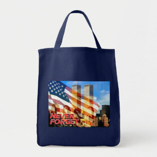 Remember The September 11, 2001 Terrorist Attacks Tote Bag
