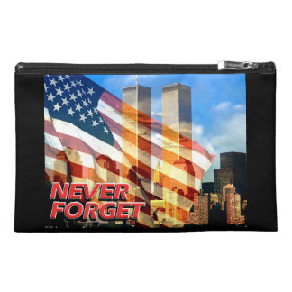 Remember The September 11, 2001 Terrorist Attacks Travel Accessory Bag