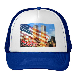 Remember The September 11, 2001 Terrorist Attacks Trucker Hat